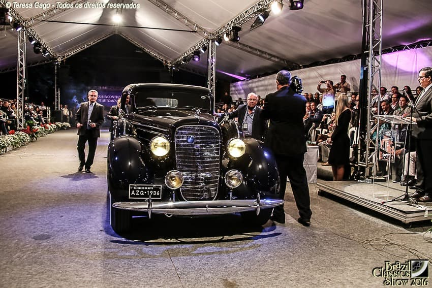 LINCOLN K LE BARON COUPE V12 1936